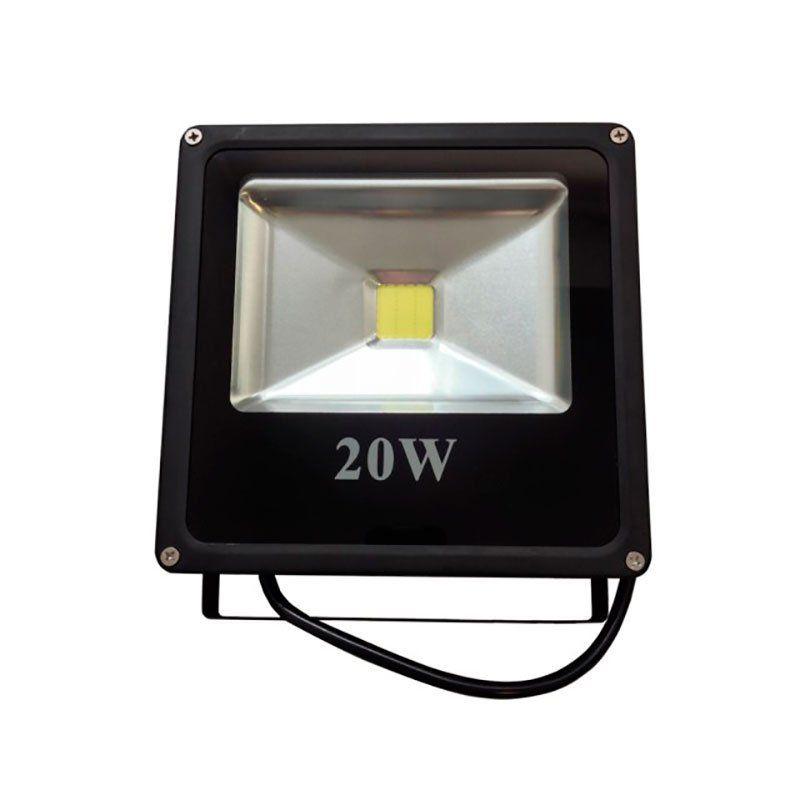 Refletor Super LED 20W Azul IP67 Embu LED