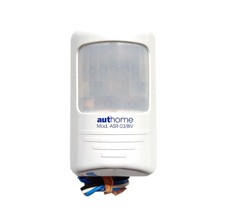 Sensor De Presença Parede Sobrepor Para Iluminação ASR-03/BIV Aut-home