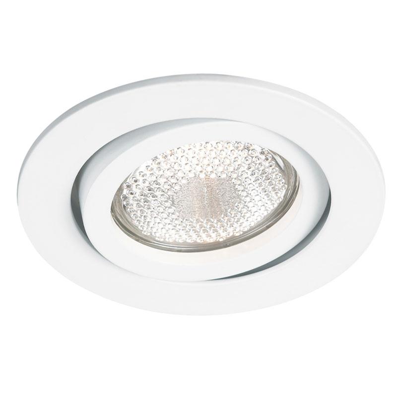 Spot Embutir AR111 Slim Redondo Branco NS311R Bella