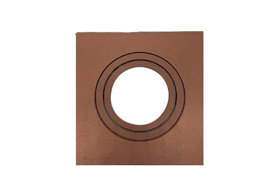 Spot Embutir Dicroica MR16 Quadrado Termoplastico Face Plana Cobre Save Energy
