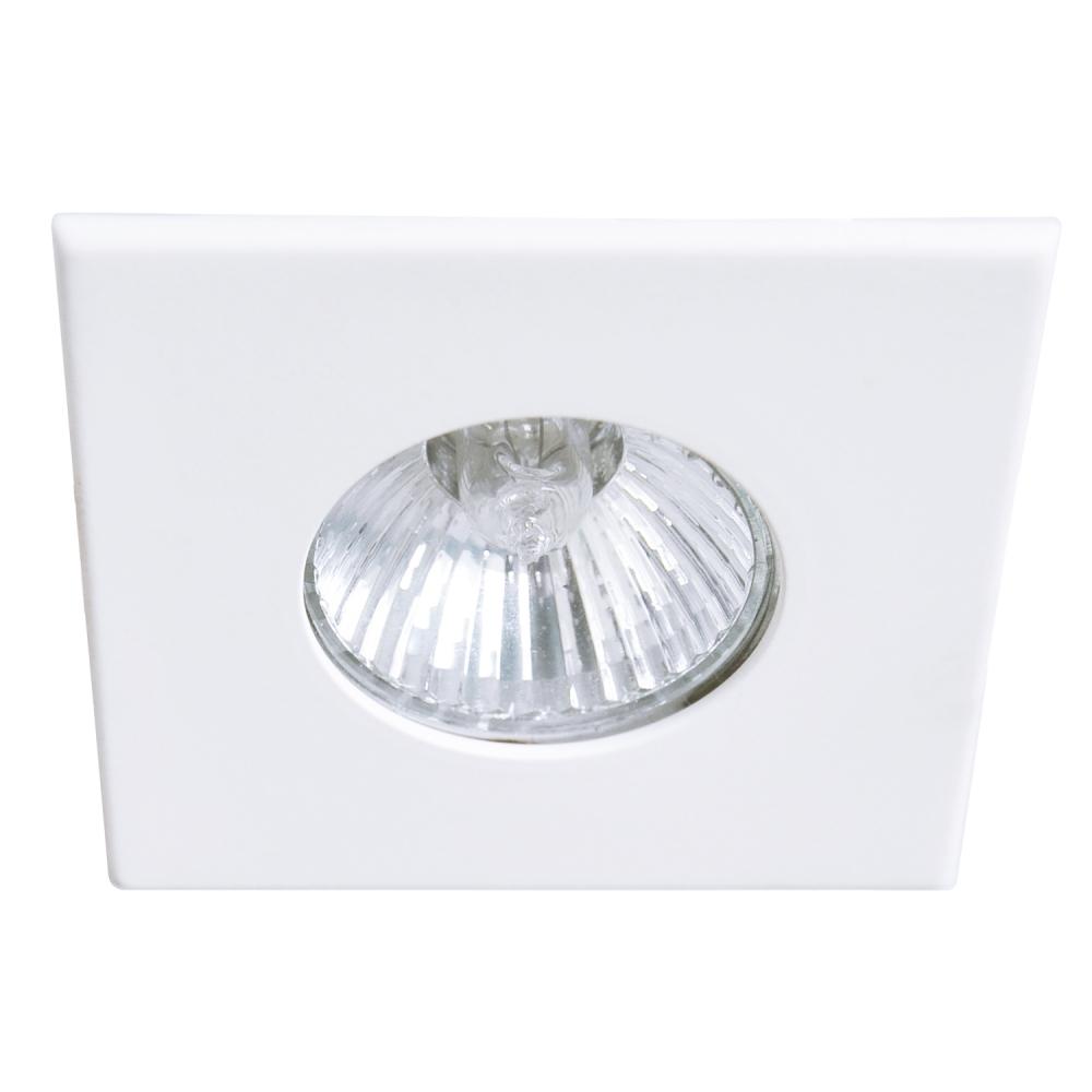 Spot Embutir Dicroica Quadrado Branco DL060 POP Bella