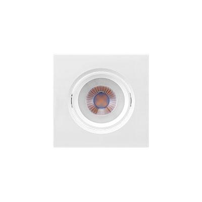 Spot Led Embutir Dicroica Quadrado 4,5W 6500K 9CM Brilia