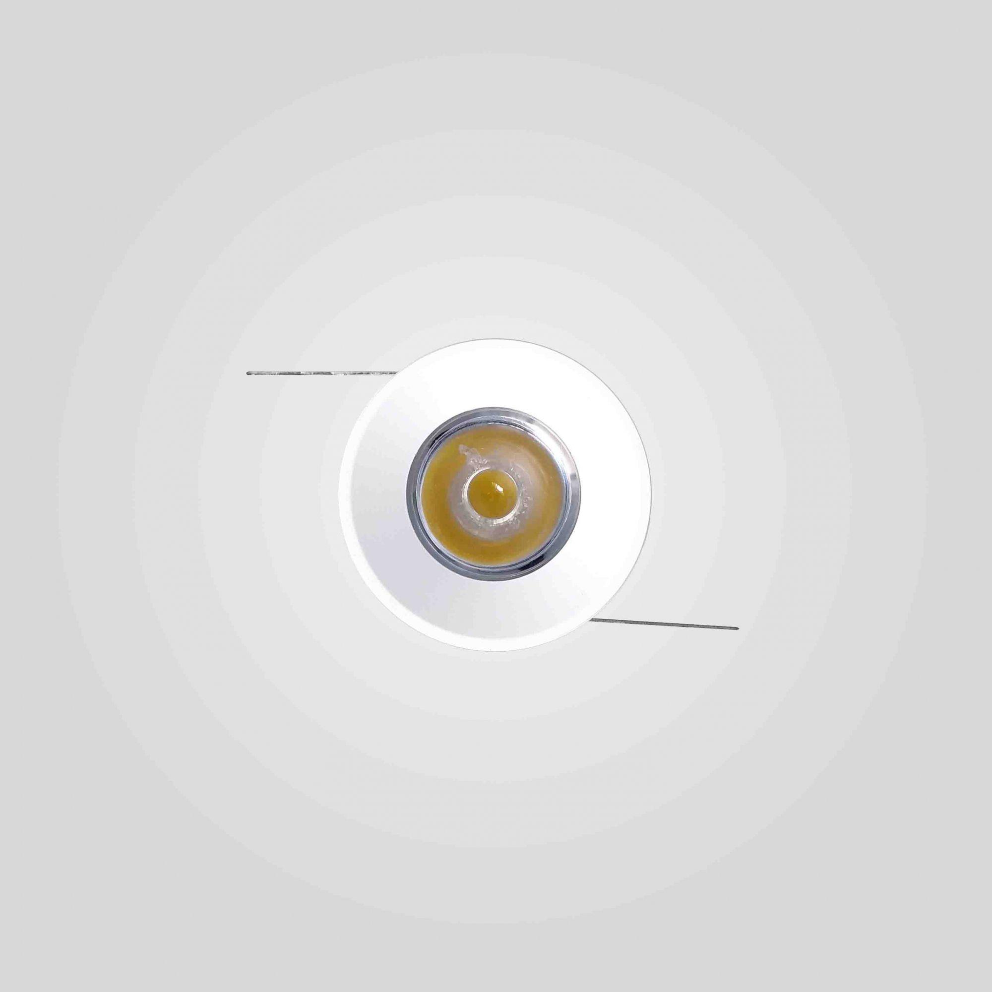 Spot Led Embutir Mini 1W 3000K Bivolt 3,5CM Redondo