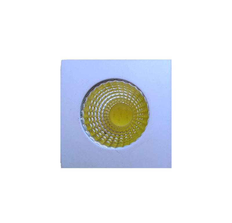 SPOT LED EMBUTIR QUADRADO MINI 3W 6000K EMBU LED