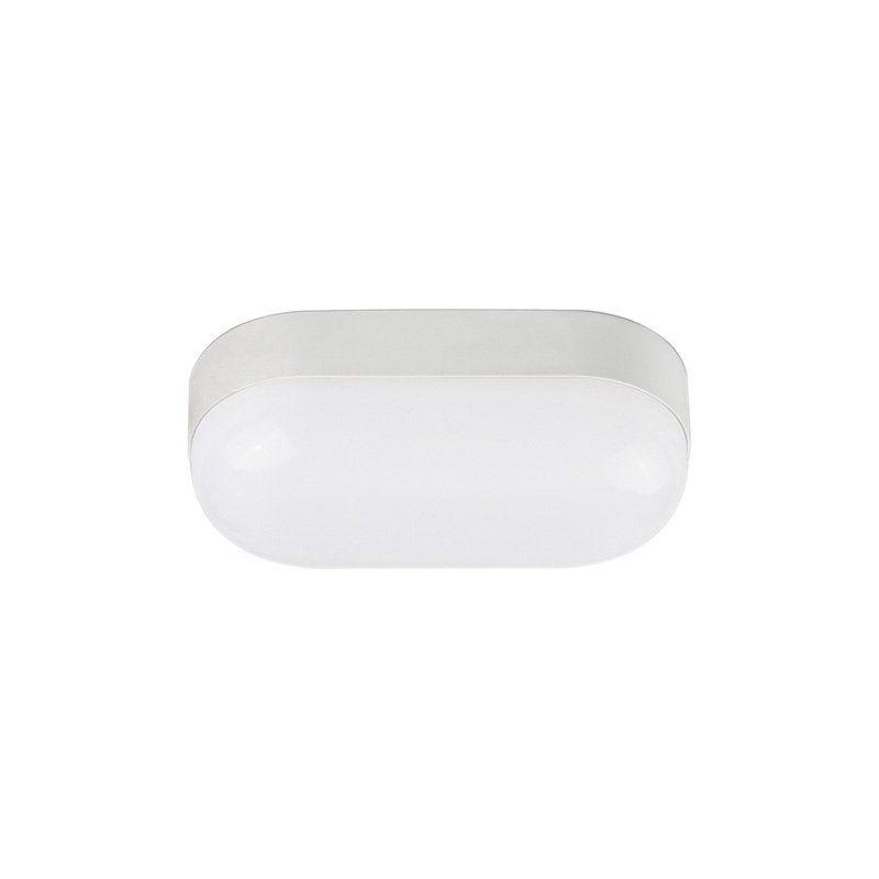 Luminária Tartaruga LED 8w 6000k IP65 Branca Blumenau