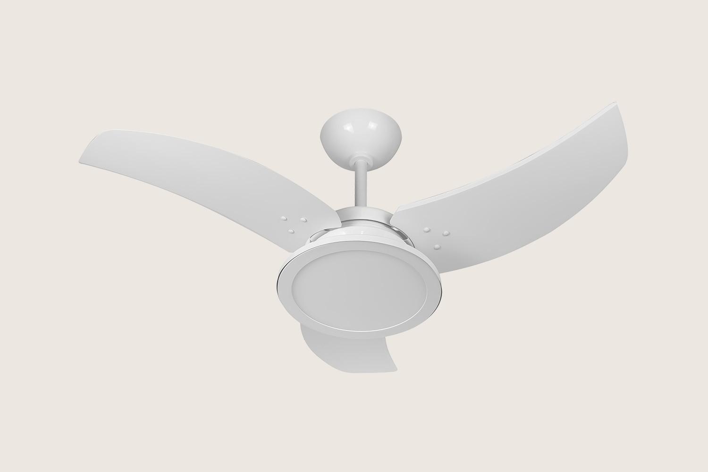 Ventilador de Teto Venom LED 24W 5500K Branco 220V Tron
