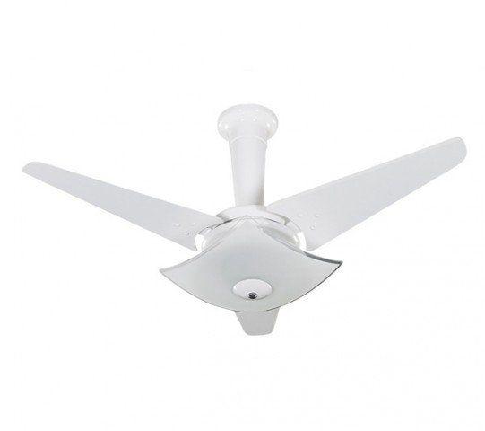 Ventilador Teto Quadrimax Branco Pas Branco Tron 127V