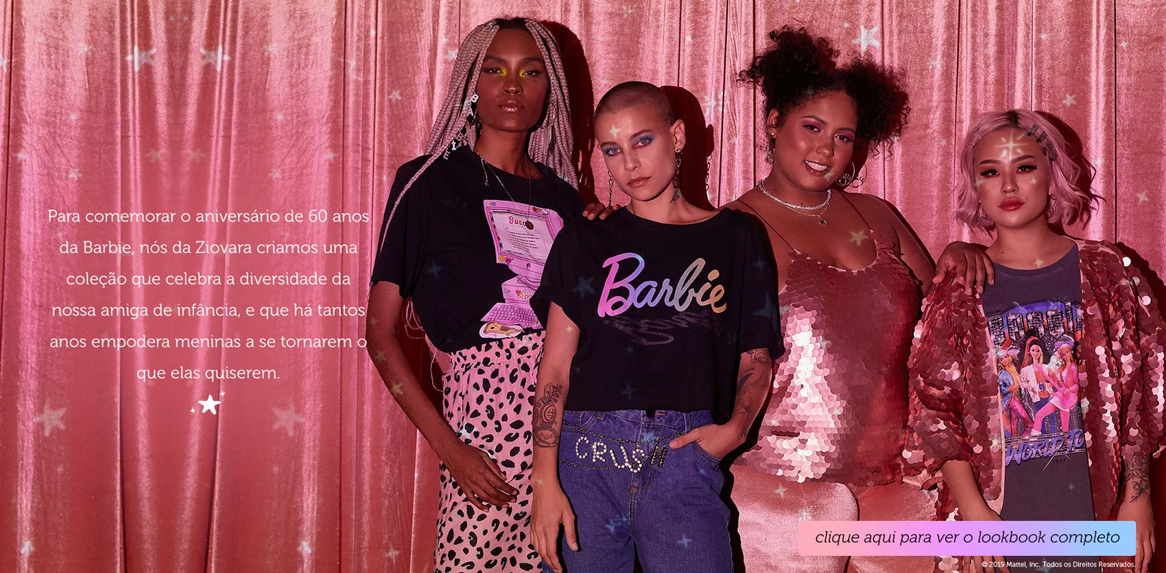 Coleção Ziovara AMA Barbie