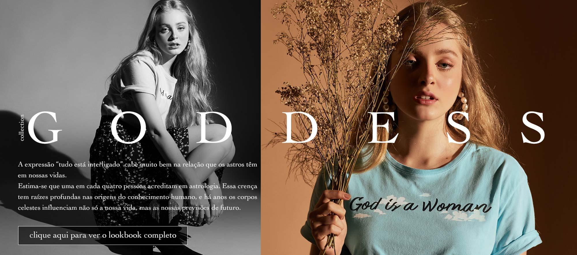 Nova Coleção Ziovara Goddess Lookbook