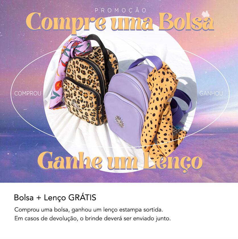 bolsa + lenço grátis