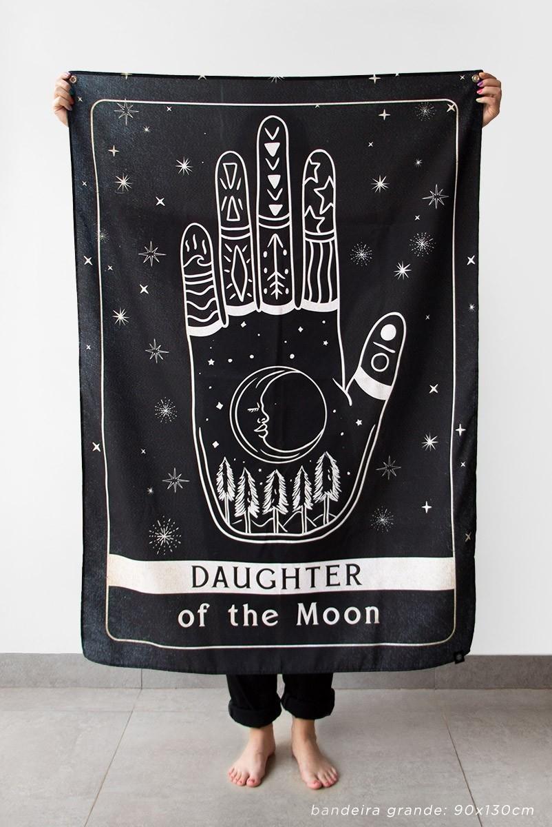 Bandeira De Parede Daughter Of The Moon