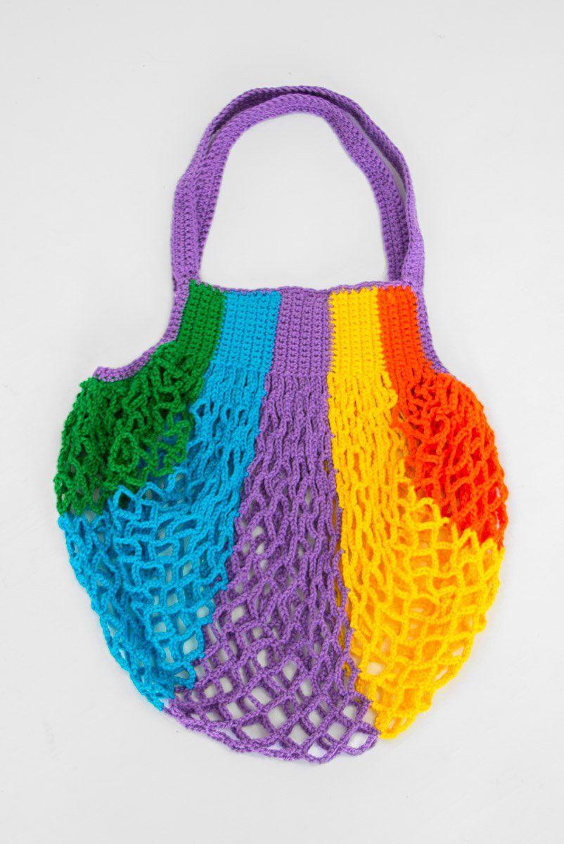 Bolsa Croche Rainbow