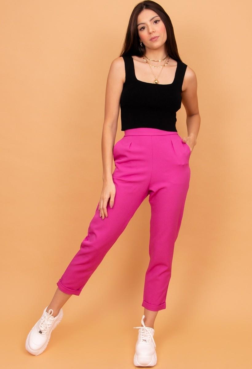 Calça Alfaiataria Pink