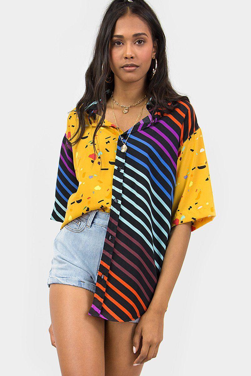 Camisa Patchwork Alalaô