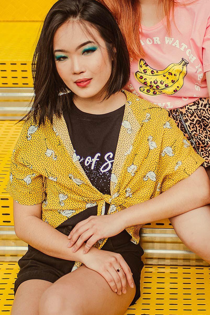 Camisa Yellow Garças