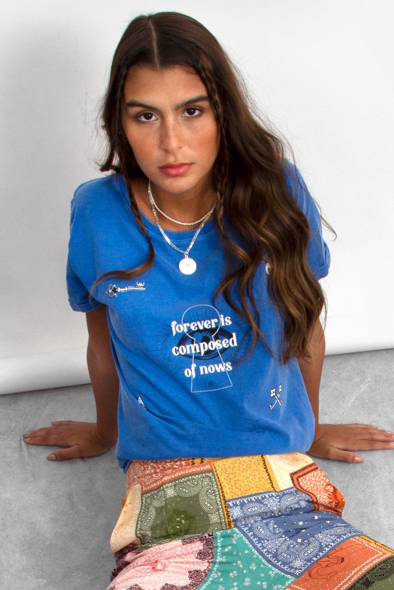 Camiseta Babylook Forever