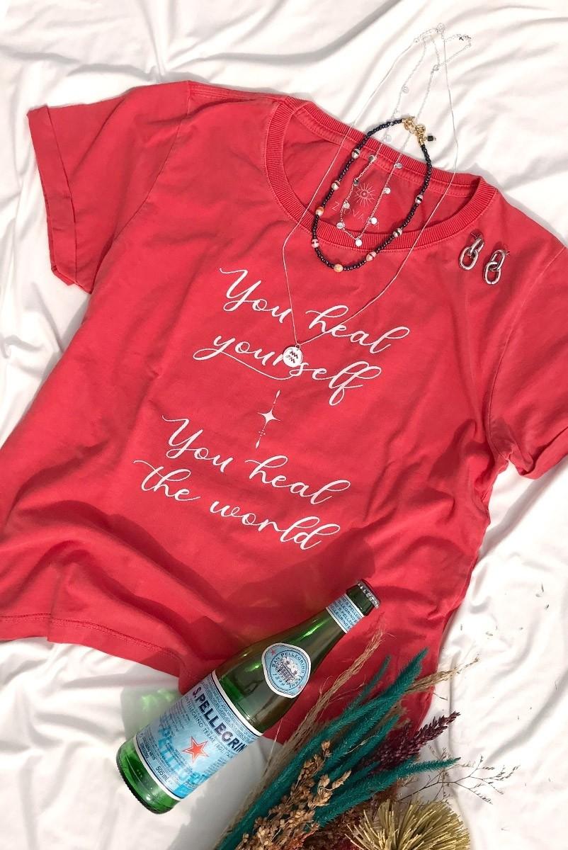 Camiseta Babylook PLUS Heal Yourself