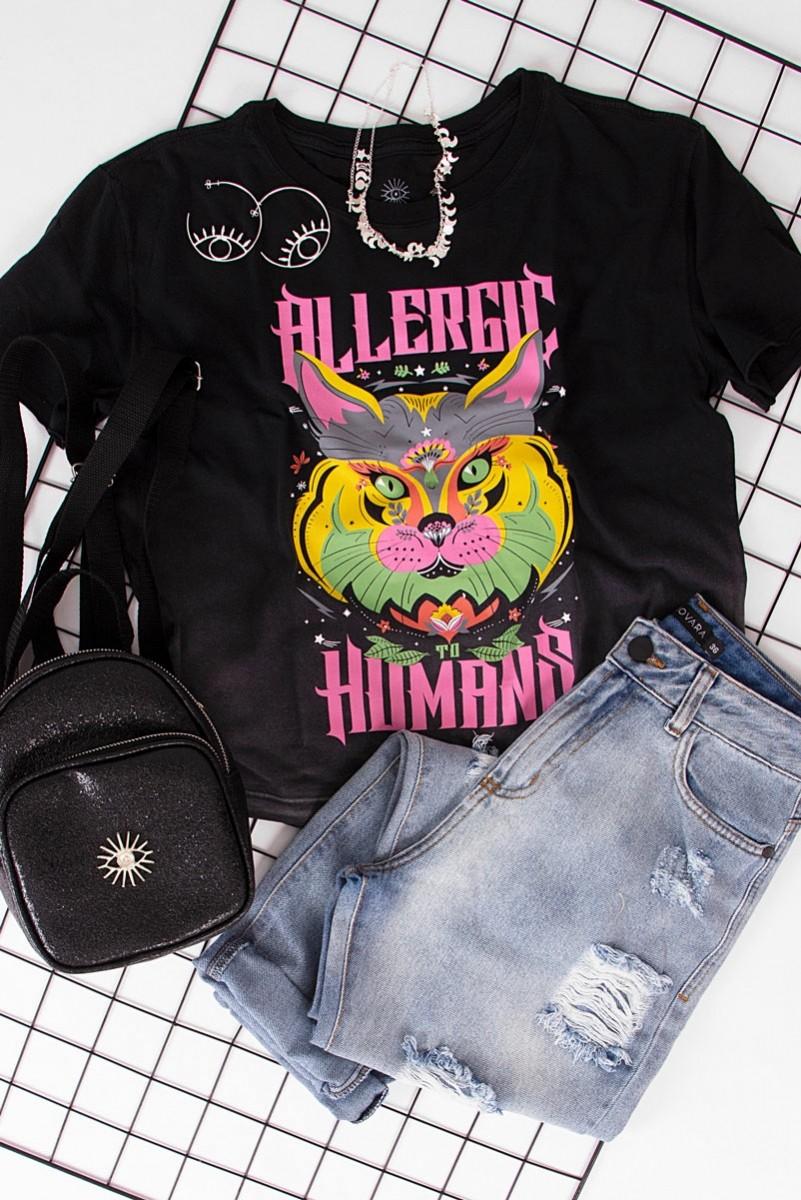Camiseta Box PLUS Allergic Gato