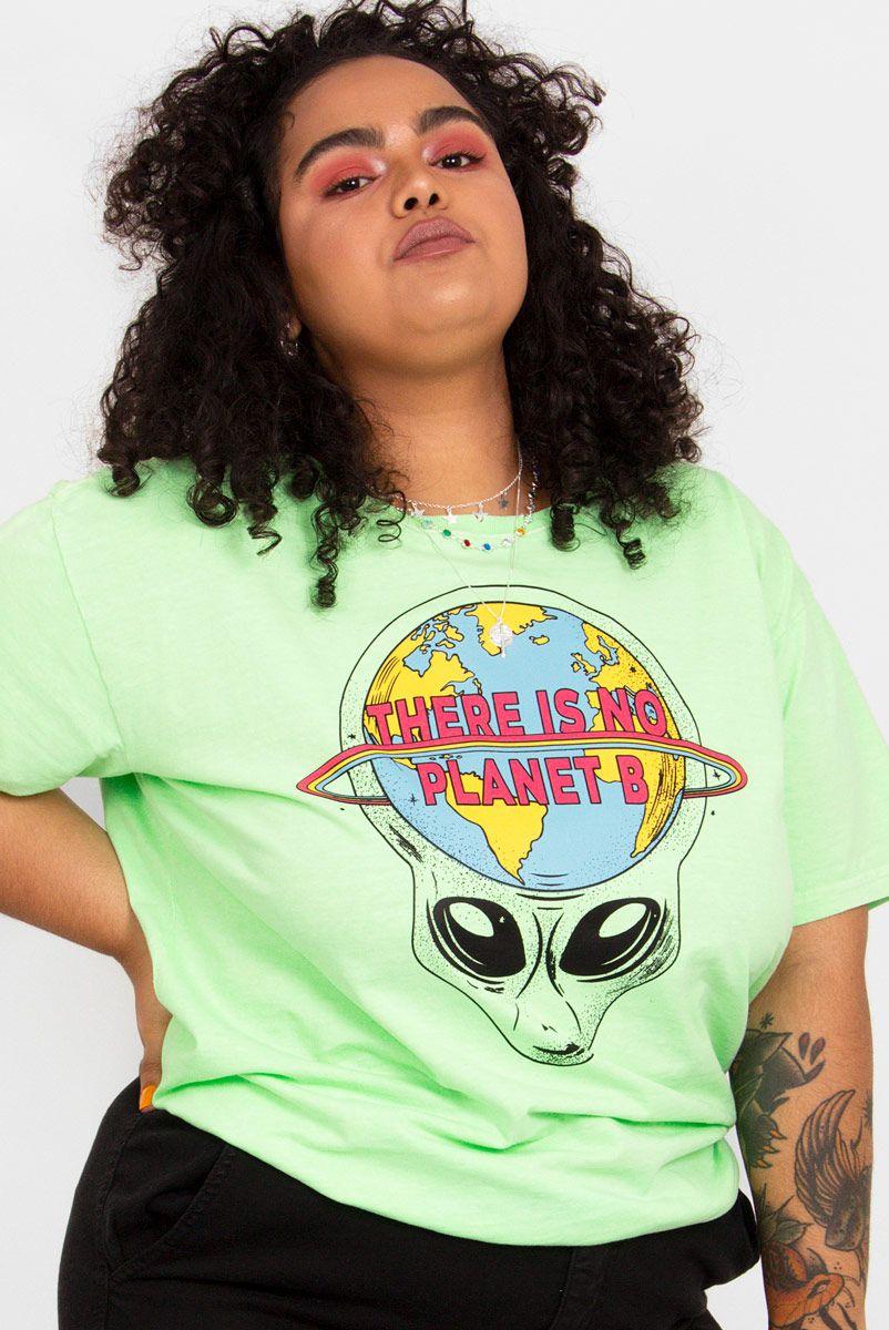 Camiseta PLUS T-shirt Alien Planet