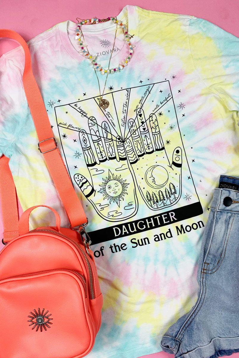 Camiseta PLUS T-shirt Tie Dye Daughter