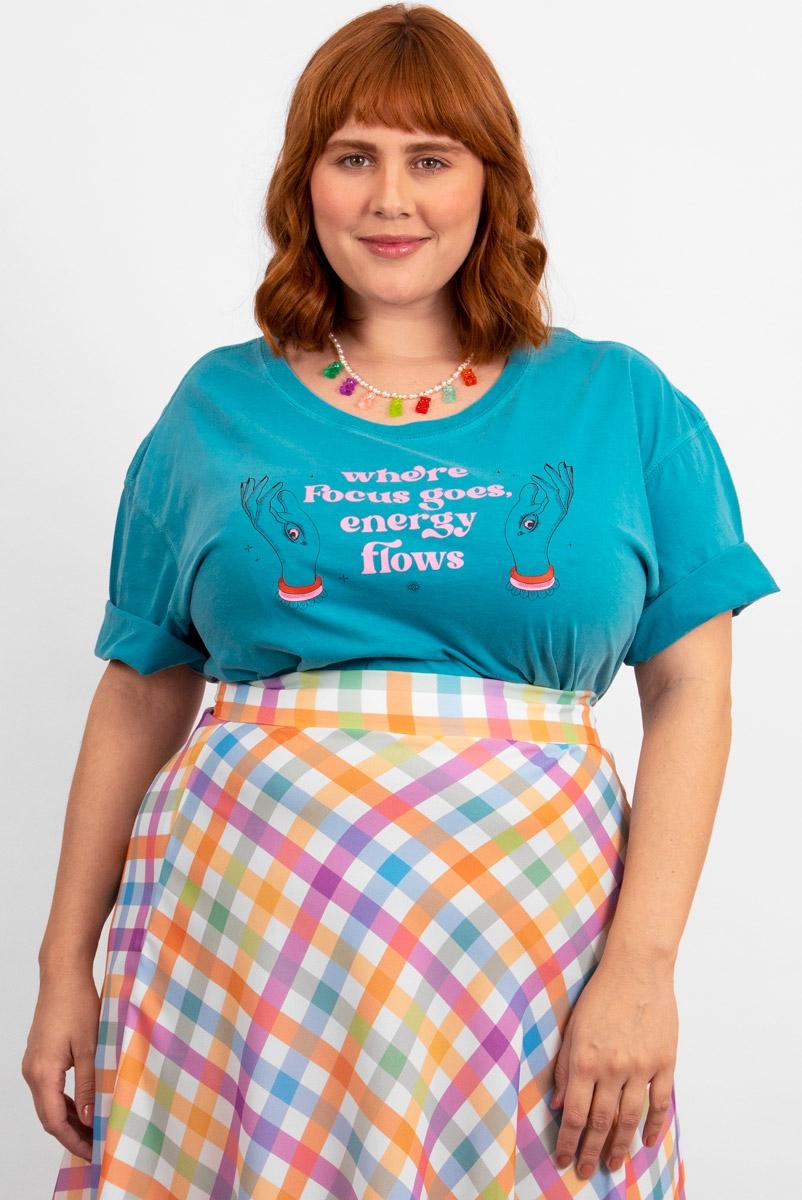 Camiseta T-shirt PLUS Focus