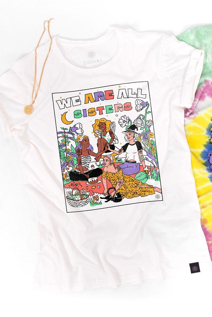 Camiseta T-shirt PLUS Sisters