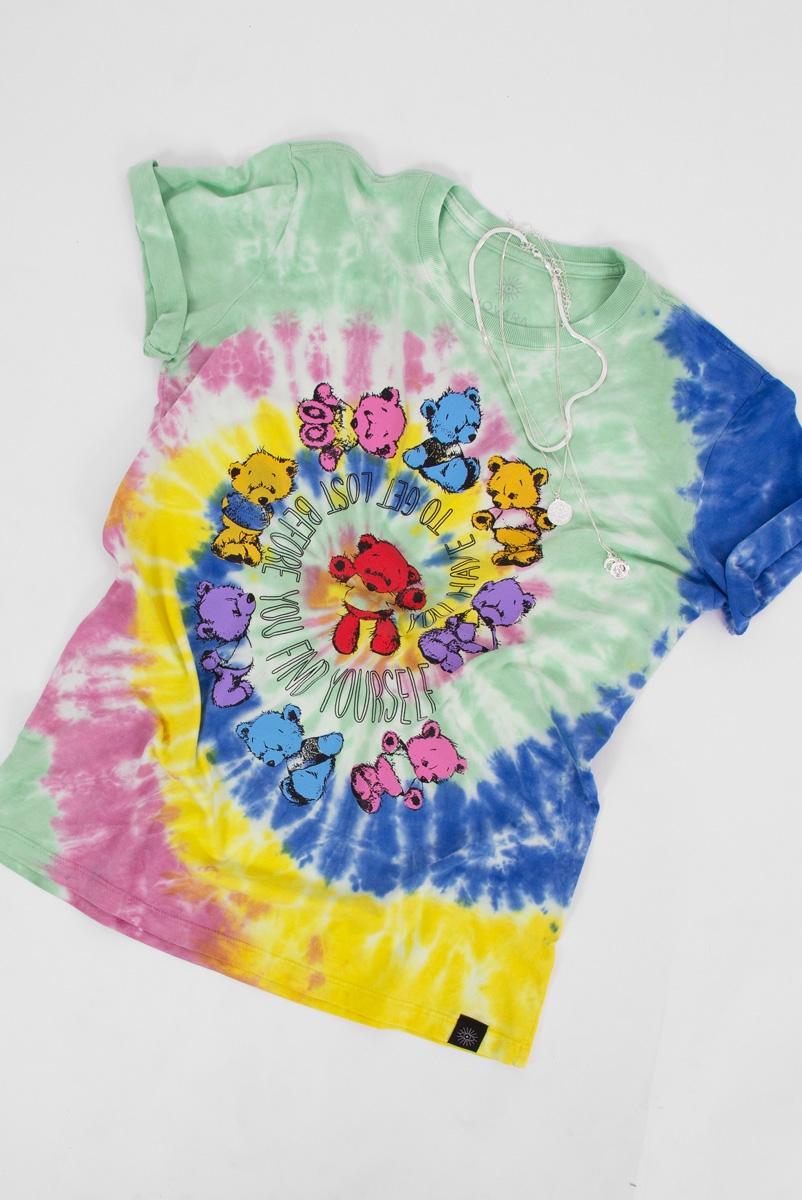 Camiseta T-shirt PLUS Tie Dye Ursinhos Zio Toy