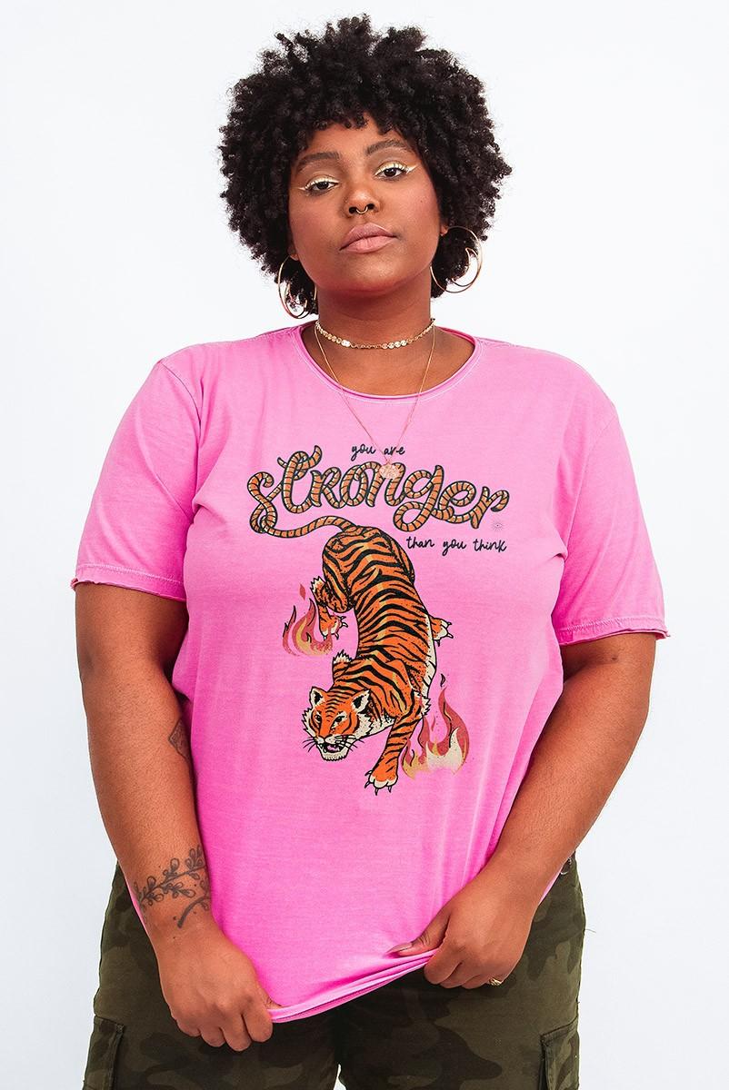 Camiseta T-shirt PLUS Tigre Strong