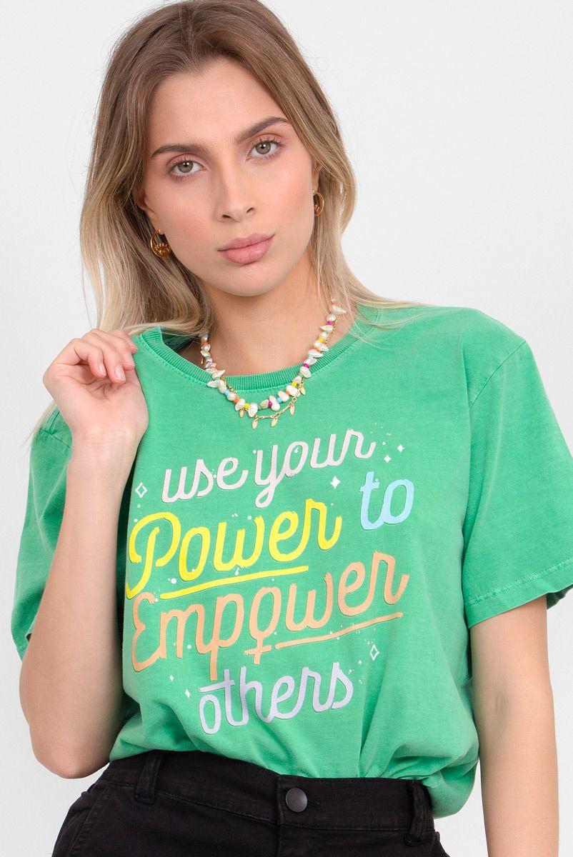 Camiseta T-shirt Power to Empower