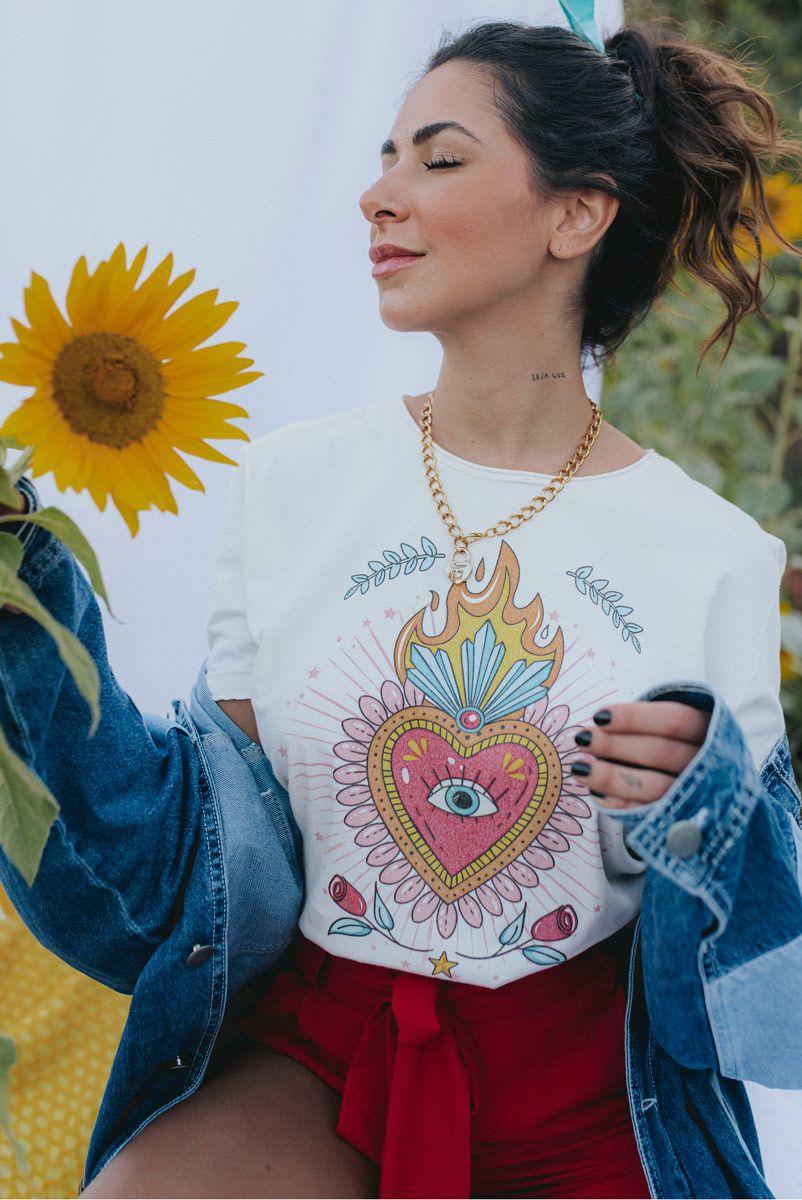 Camiseta T-shirt Sacred Heart