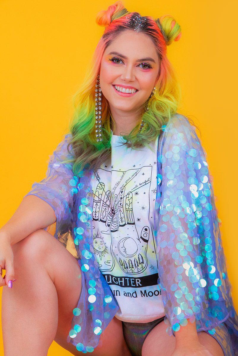 Camiseta T-shirt Tie Dye Daughter