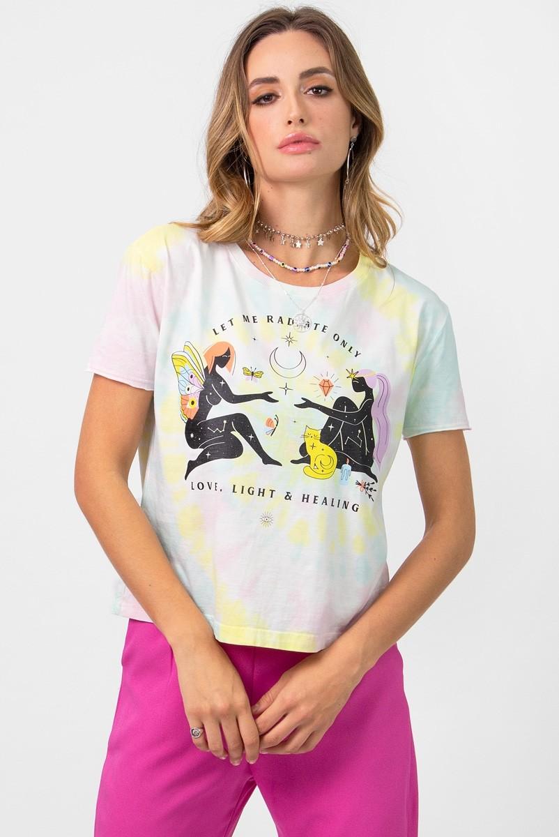 Camiseta T-shirt Tie Dye Radiate