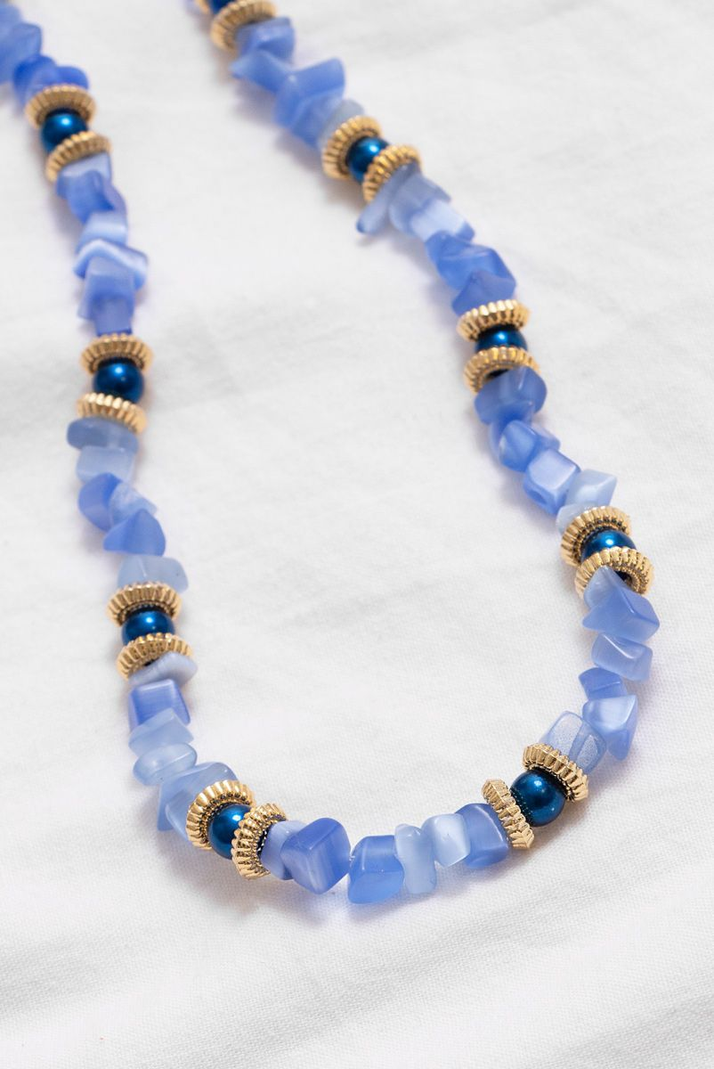 Choker Azul Gardenia