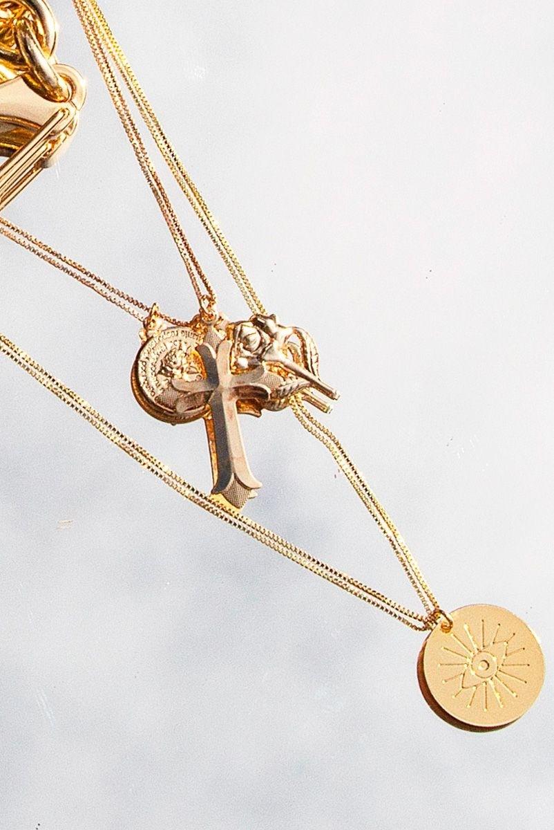 Colar Medalha Zio