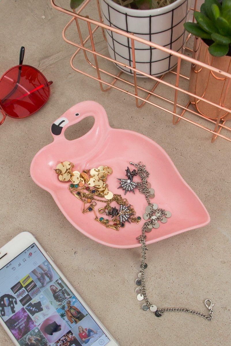 Flamingo Decor Porta - Jóia