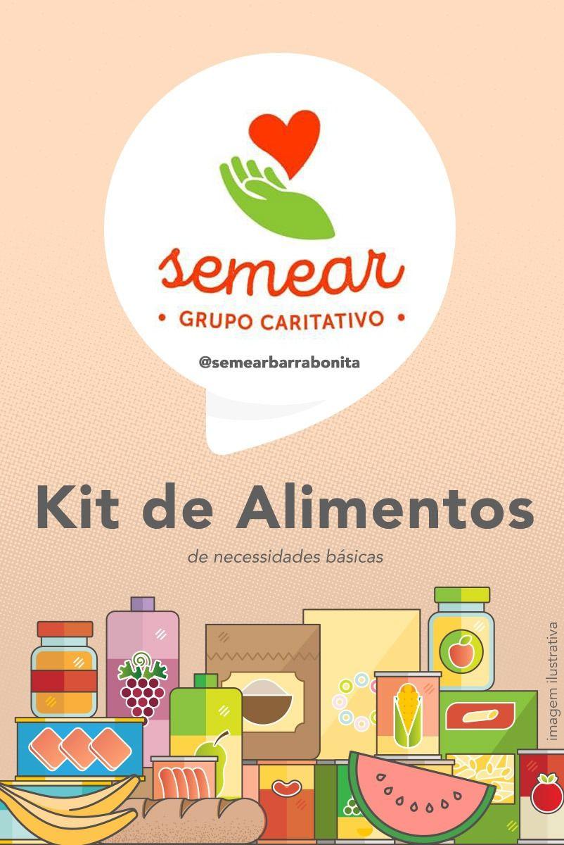 Kit de Alimentos - Semear