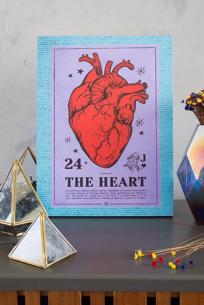 Quadro DecorCoração The Heart