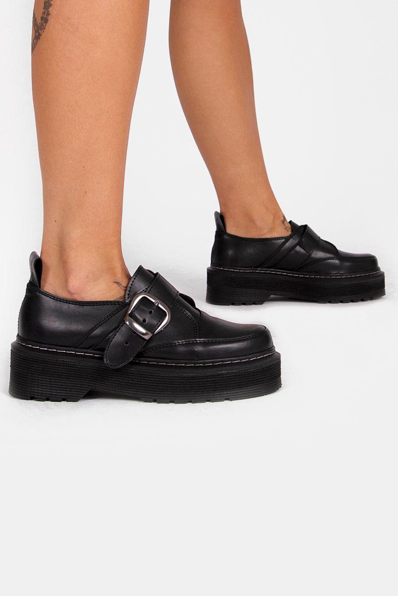 Sapato Creeper Unissex Fivela