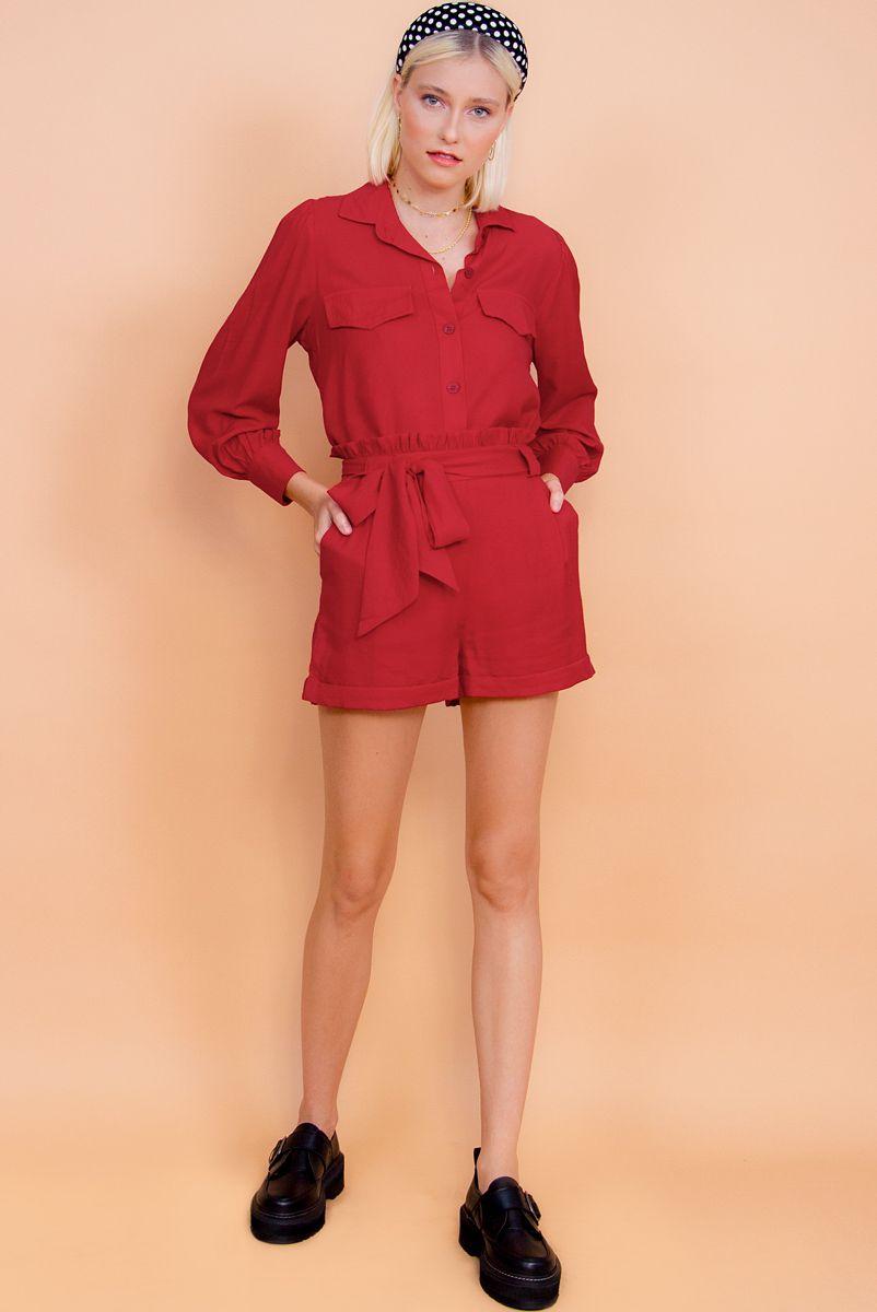 Shorts Clochard Cereja