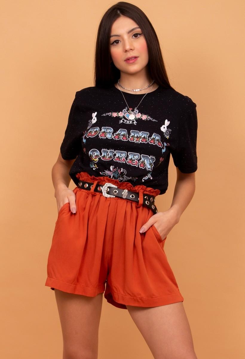 Camiseta T-shirt Botone DRAMA QUEEN