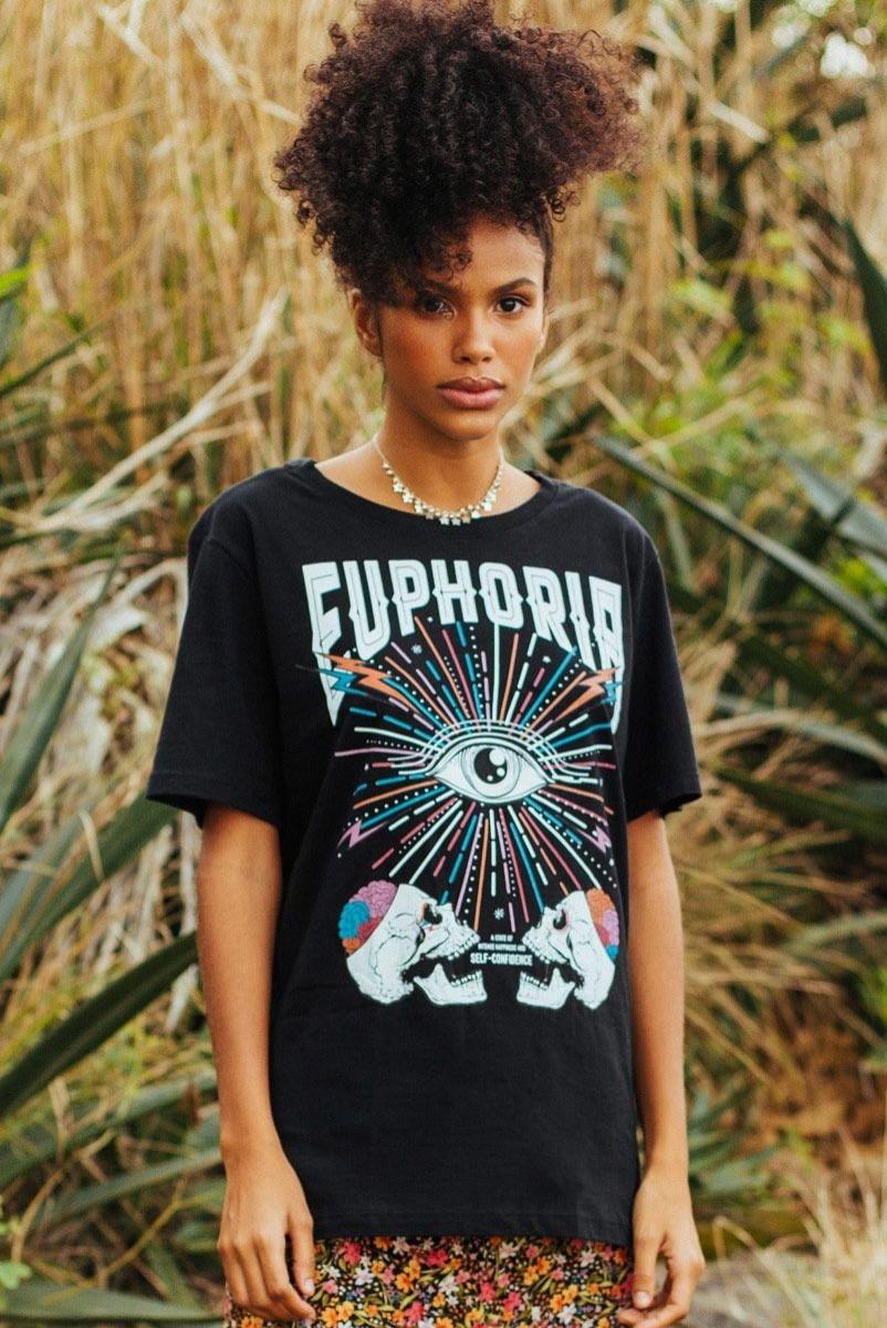 Camiseta T-shirt Euphoria