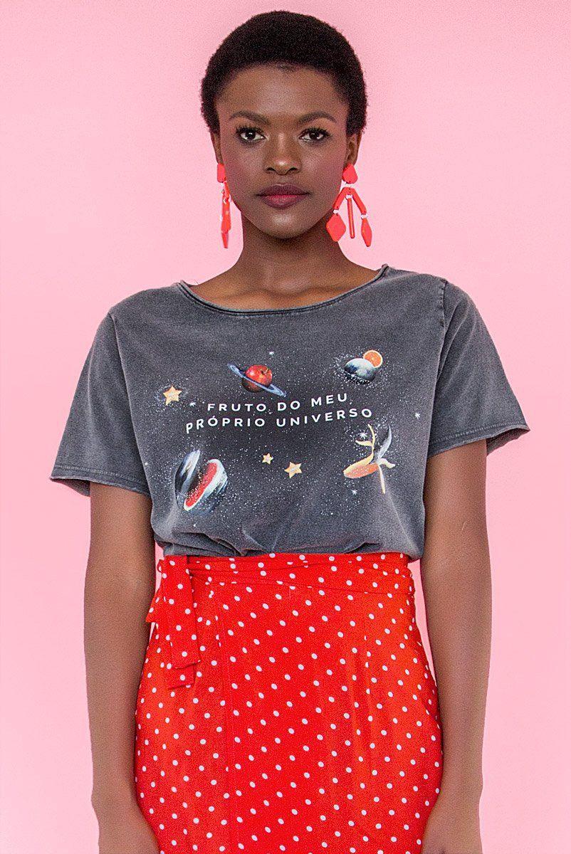 T-shirt Fruto do Meu Próprio Universo