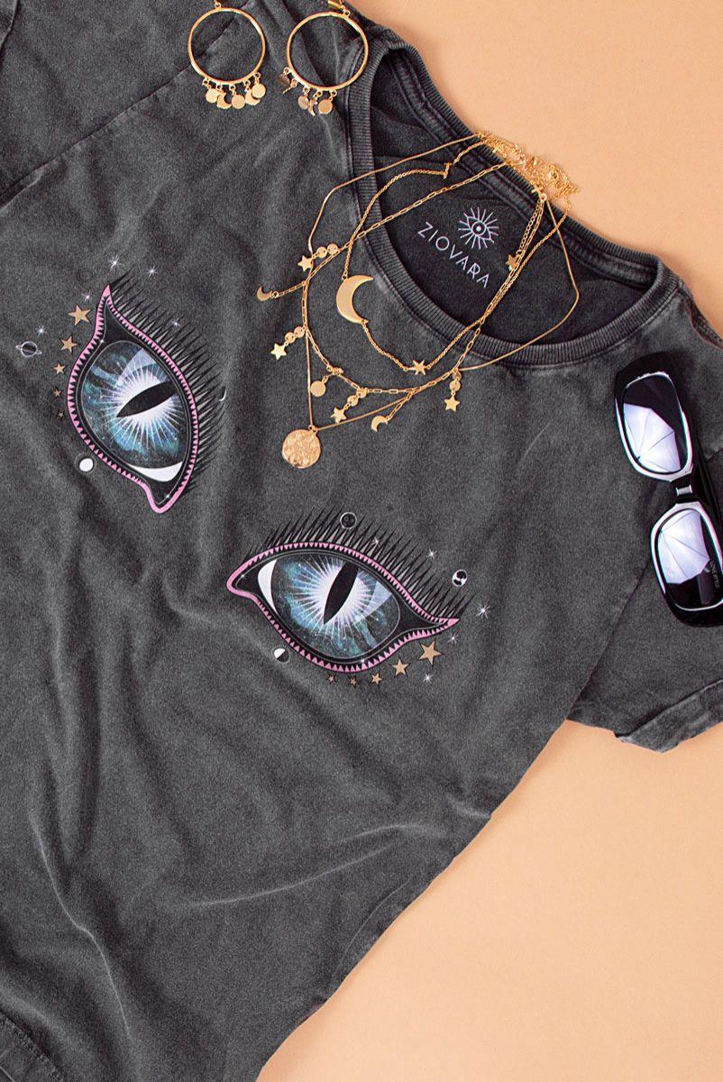 T-shirt Glass Eye Olho