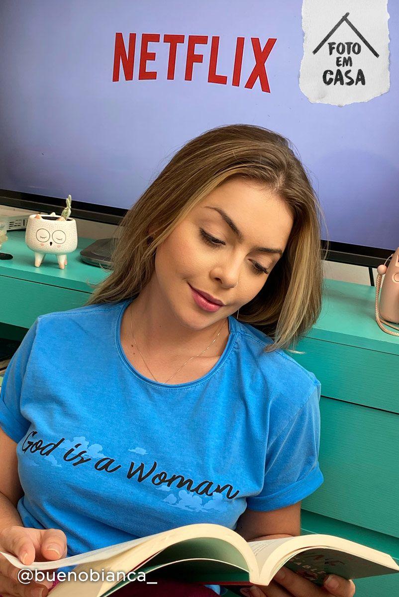 T-shirt God Is a Woman