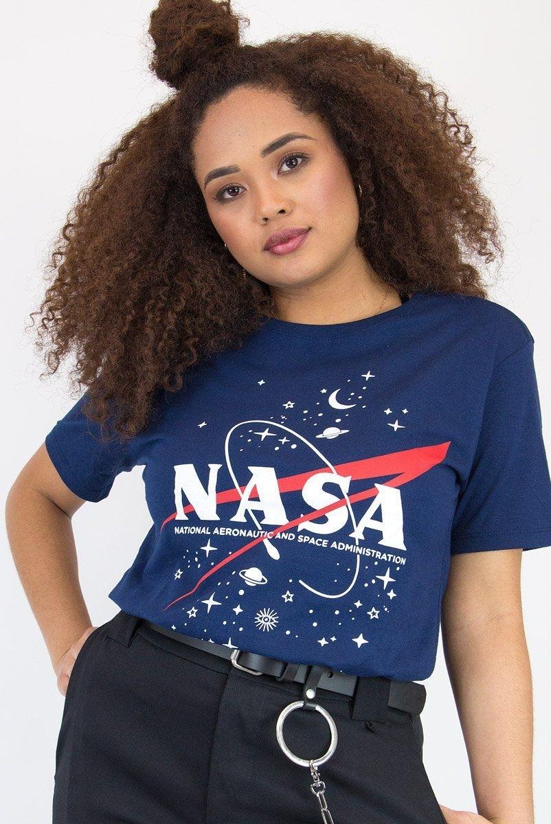 Camiseta T-shirt Nasa Navy