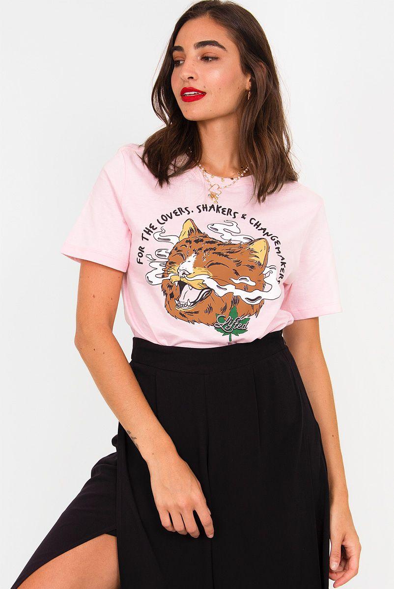 T-shirt NEW! Smoking Gato