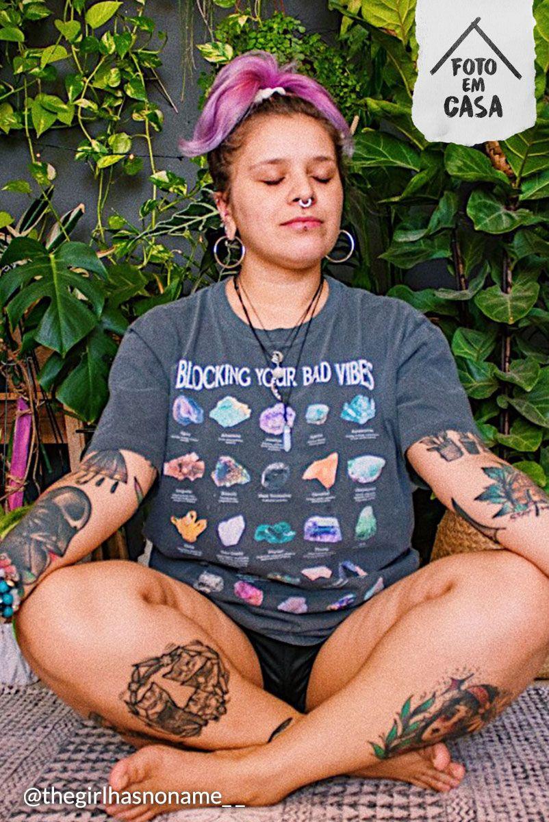 T-shirt Pedras Gemstones Vibes