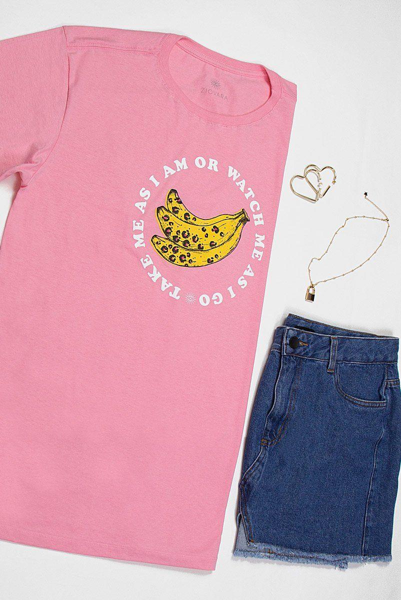 T-shirt PLUS Bananas