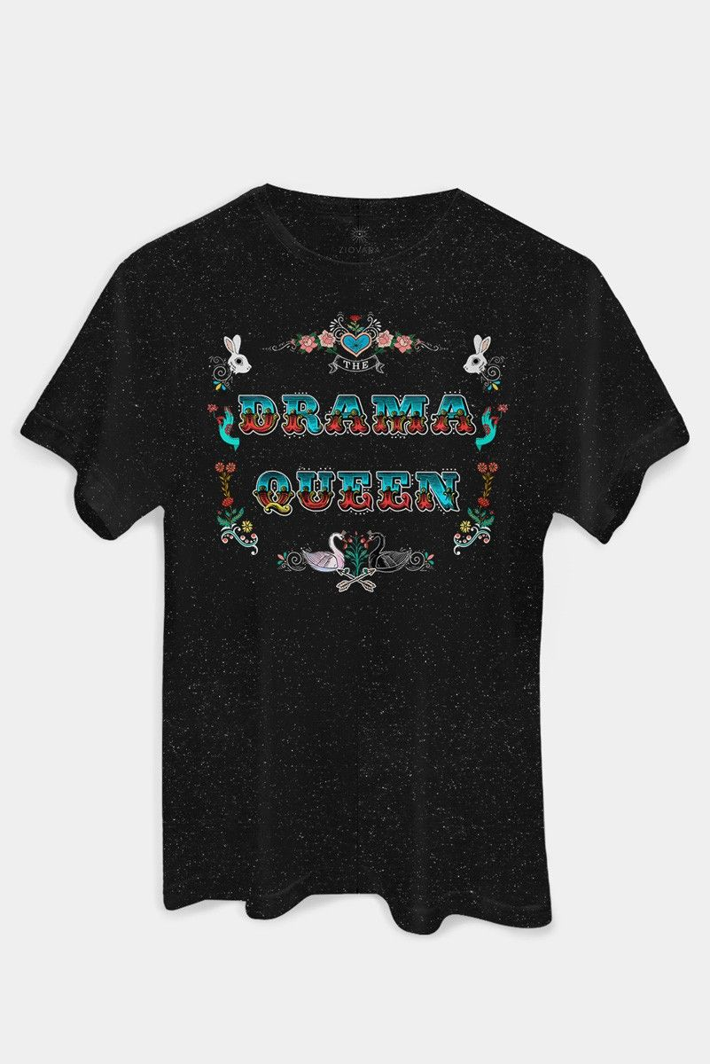 T-shirt PLUS Botone DRAMA QUEEN