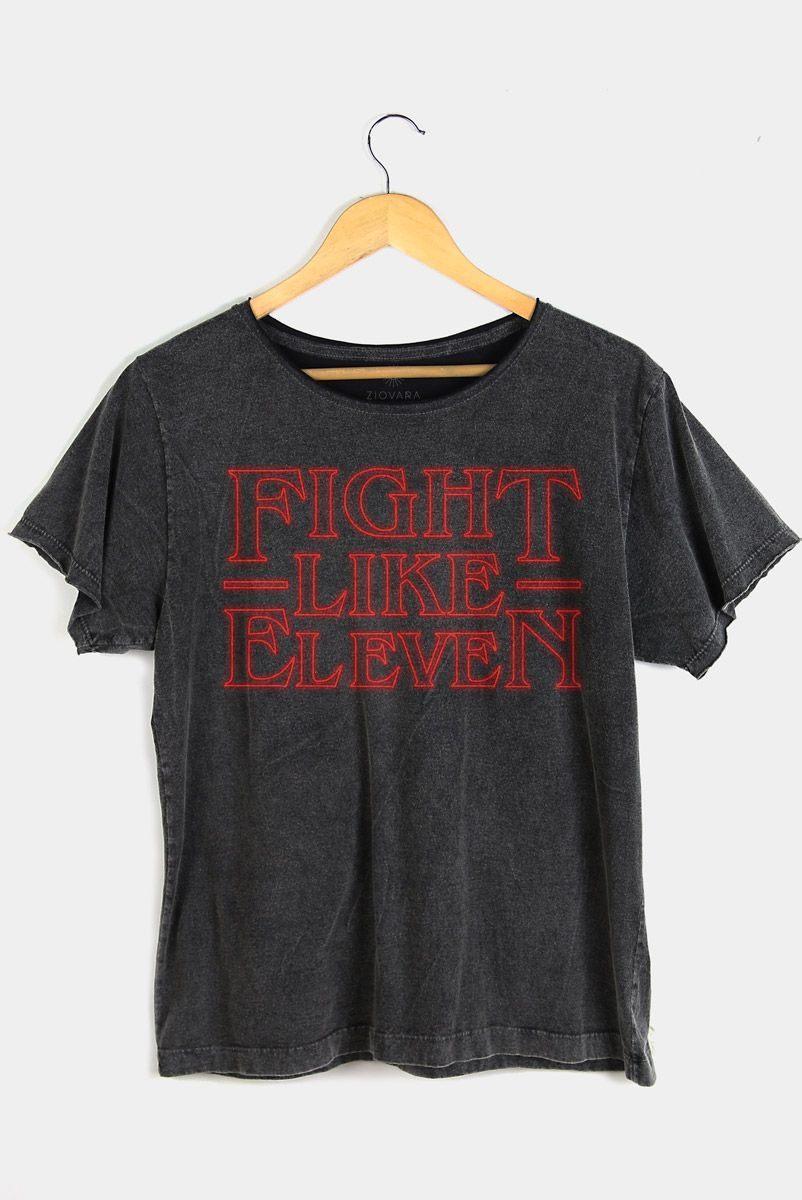 T-shirt PLUS Fight Like Eleven | Stranger Things